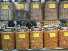 Canisters of Chinese Dried Seafood