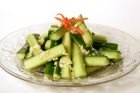 Garlic Cucumber Salad
