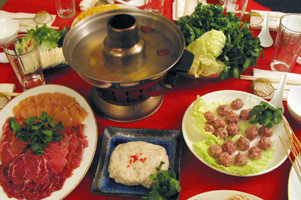 Foodbuzz 24, 24, 24:  Chinese New Year Hot Pot Dinner
