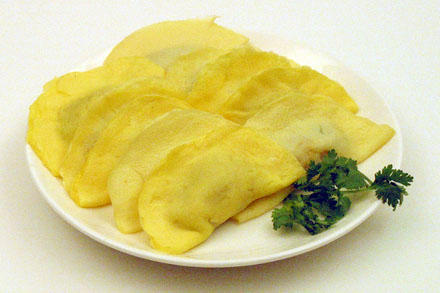 Egg Dumplings, Comforting Food