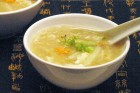 White Asparagus and Crabmeat Soup