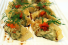 Crabmeat and Dill Dumplings