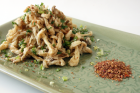 Crisp-fried Mushrooms with Sichuan spicy salt
