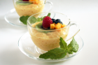Mango Coconut Tapioca Pudding