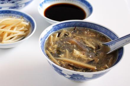 Vegetarian Shark Fin Soup