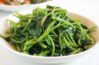 Stir-Fried Sweet Potato Greens