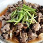 Steamed Pork Ribs with Fermented Black Beans