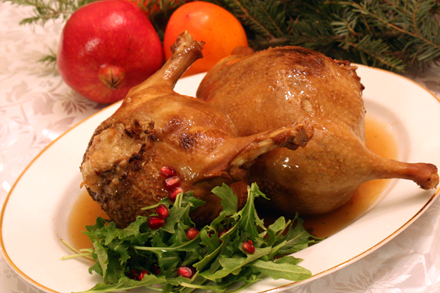 Christmas Duck Recipes.Eight Treasures Hulu Duck 八珍葫蘆鴨