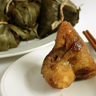 Alkaline Zongzi with Red Bean Paste