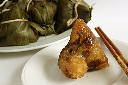 That's Alkaline Zongzi You're Smelling