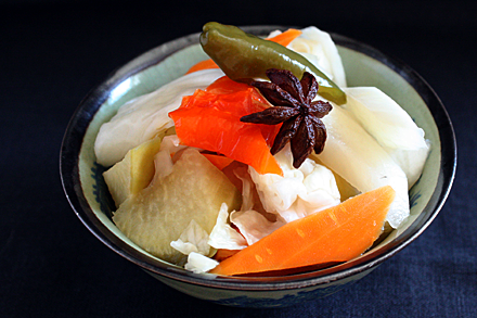 Probiotic Pickles of China