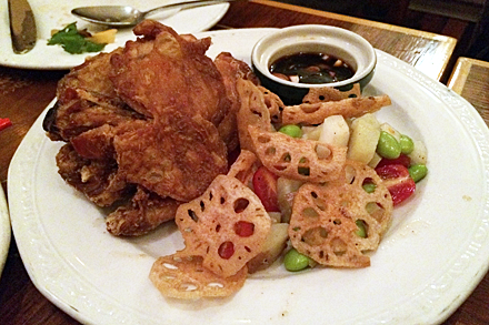 Crisp Fried Chicken at Purple Yam
