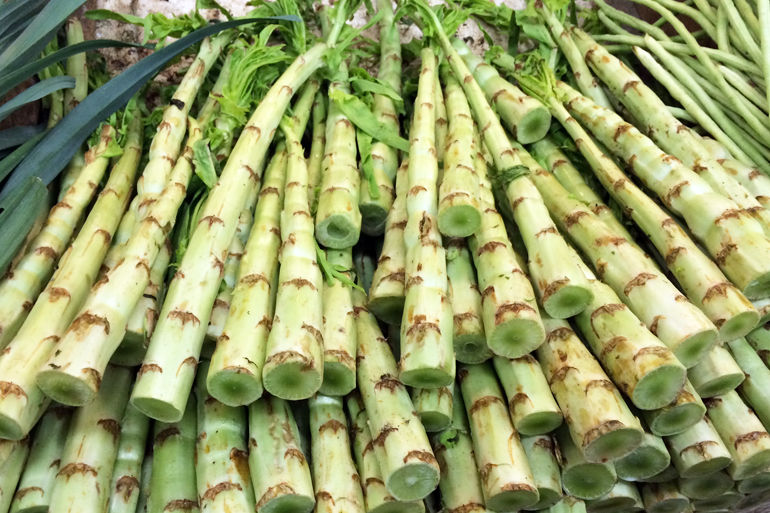 Celtuce in the Market