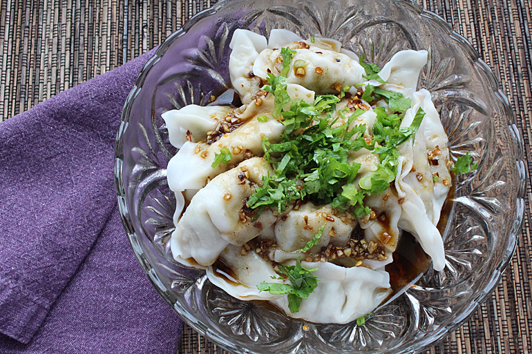 Chef One Dumplings with Sichuan Spicy Sauce